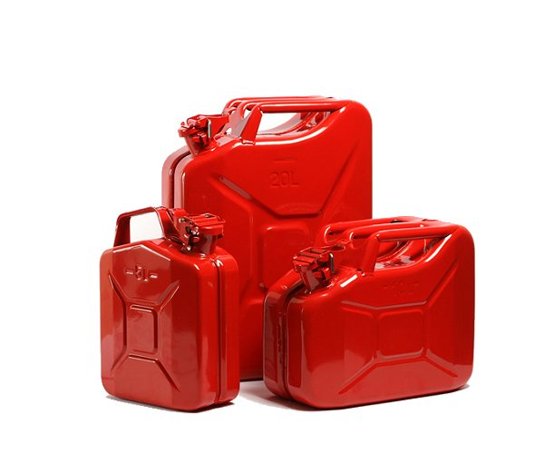 Petrol Steel Jerry Cans