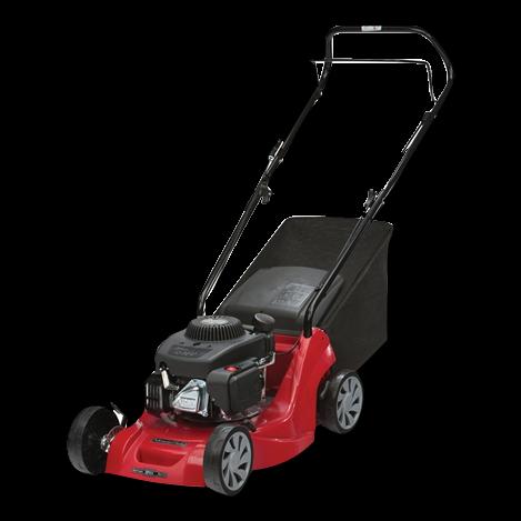 Push 4-Wheel Petrol Lawn Mowers