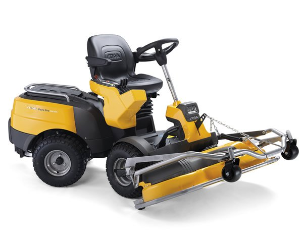 Sit-On Lawnmowers with Out-Front Decks