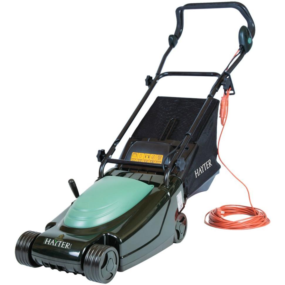 Hayter Envoy Electric RearRoller Lawn Mower (Code 100)