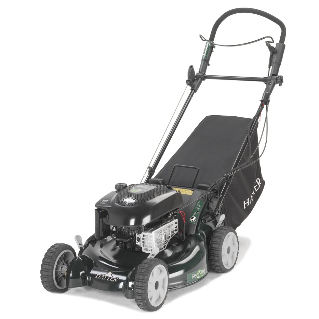 Hayter R53A Power-Driven Recycling Lawn Mower VS ES (Sens-A-Speed Transmission, Aluminium Deck) (Code: 449)