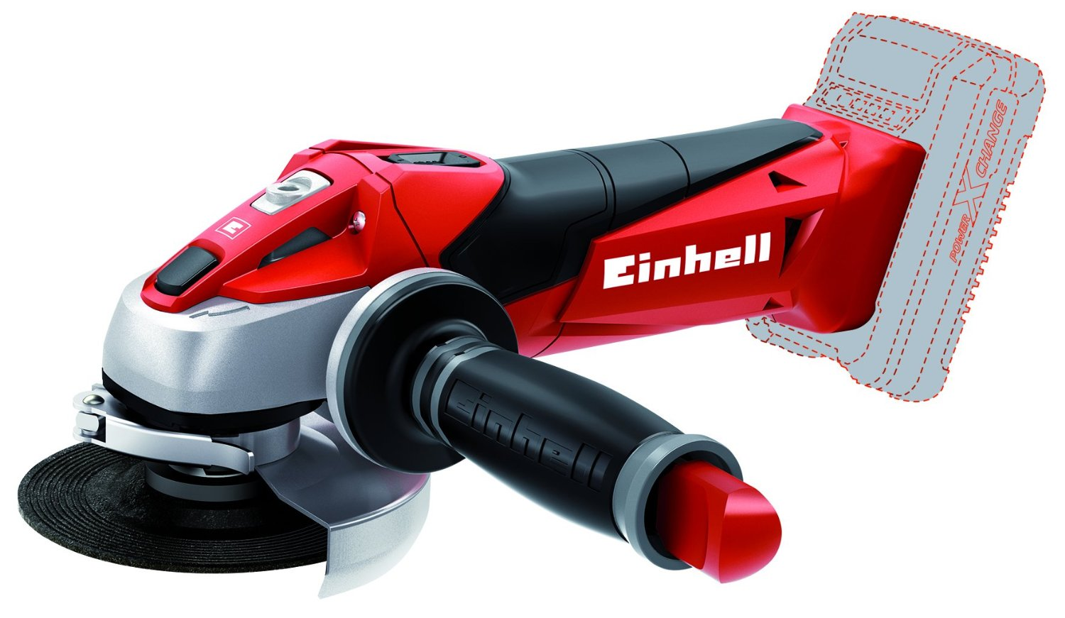 Einhell TE AG 18LI Power X Change Cordless Angle Grinder Solo
