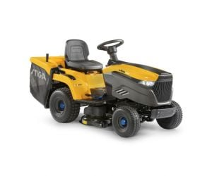 Stiga e-Ride C500 Battery Collecting Lawn Tractor c/w 84cm (33'') Deck - Powered Lithhium-Ion Battery