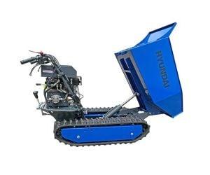 Hyundai HYTD500 196cc Petrol 500kg Payload Tracked Mini Dumper / Power Barrow / Transporter