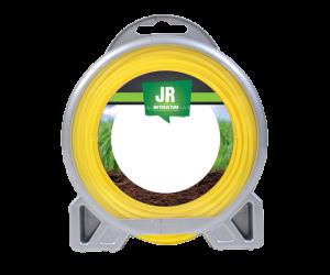 Premium Square Nylon Trimmer-Line - Replacement Strimmer Line (1.3mm x 15m)  -JR FNY046