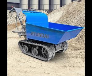 Hyundai HYTD300 196cc Petrol 300kg Payload Tracked Mini Dumper / Power Barrow / Transporter