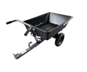 Spectrum SP22134 295kg Push / Tow Poly Tipping-Cart