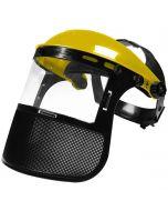 Professional Lift-Up Brushcutter Visor with Dual Shield - JR PRT005