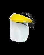 Professional Transparent Protection-Visor with Flip-Up Screen - JR PRT010