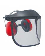 Mesh Protection-Visor with Ear Defenders - JR PRT014