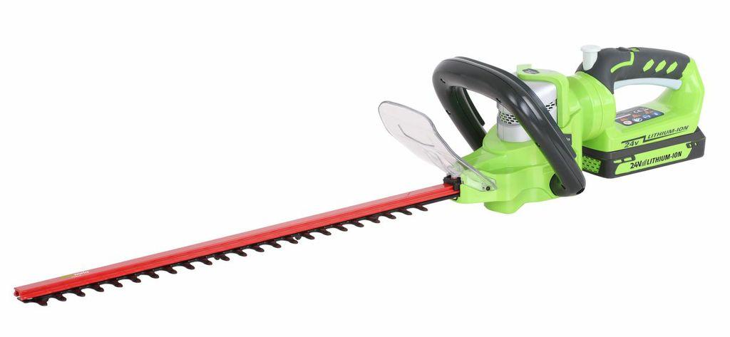 Greenworks 24v Cordless 54cm Hedge trimmer (G24HT54K2)