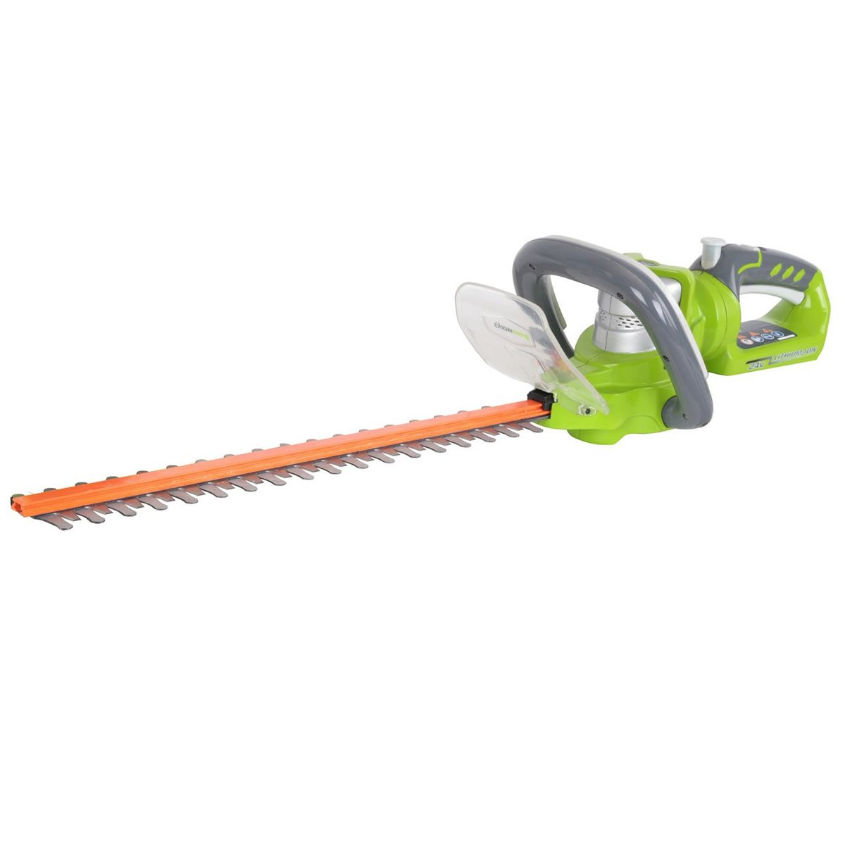 Greenworks 24v Deluxe Cordless Hedge Trimmer with Twist Handle (2200107-A)