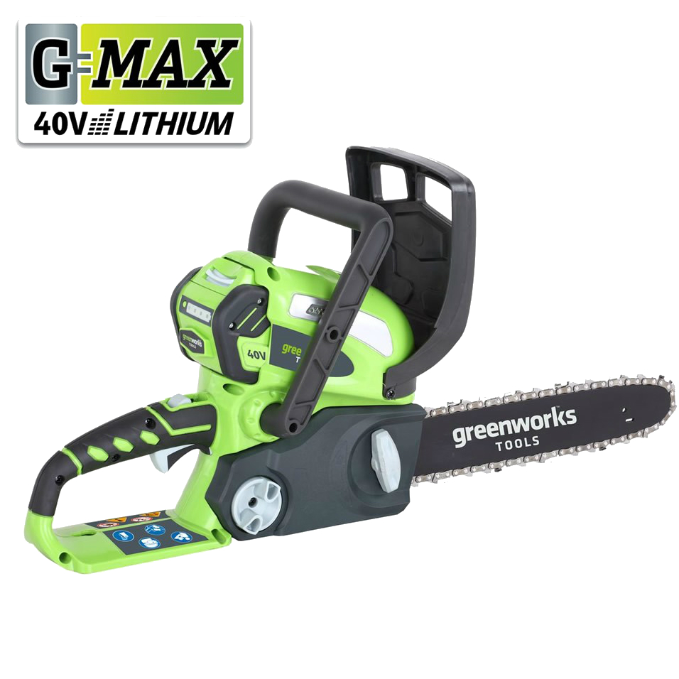 Greenworks GMAX 40v 30cm Cordless Chainsaw (G40CS30  Tool Only)