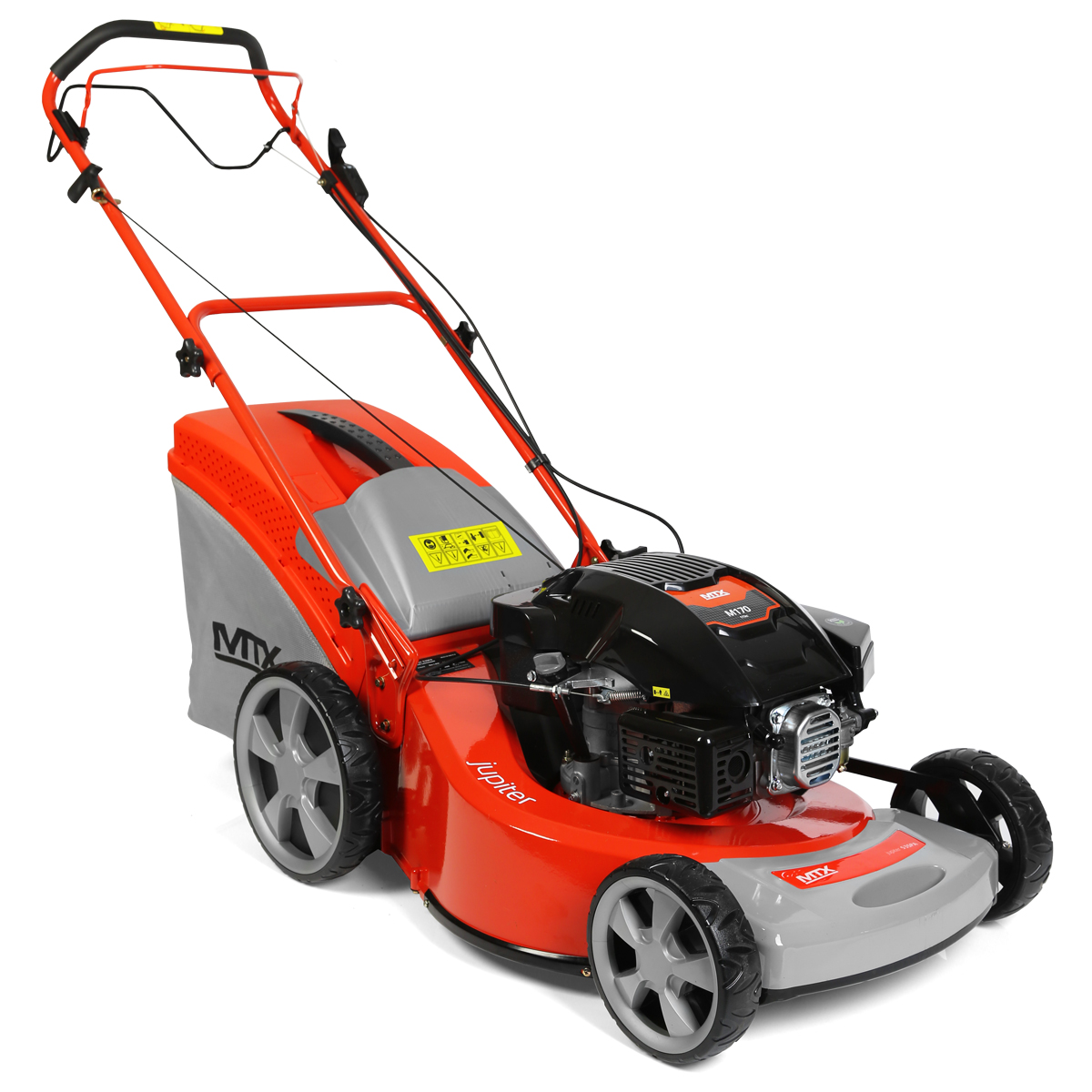 Mtx jupiter 53spa self propelled petrol lawnmower with for Decking special offers