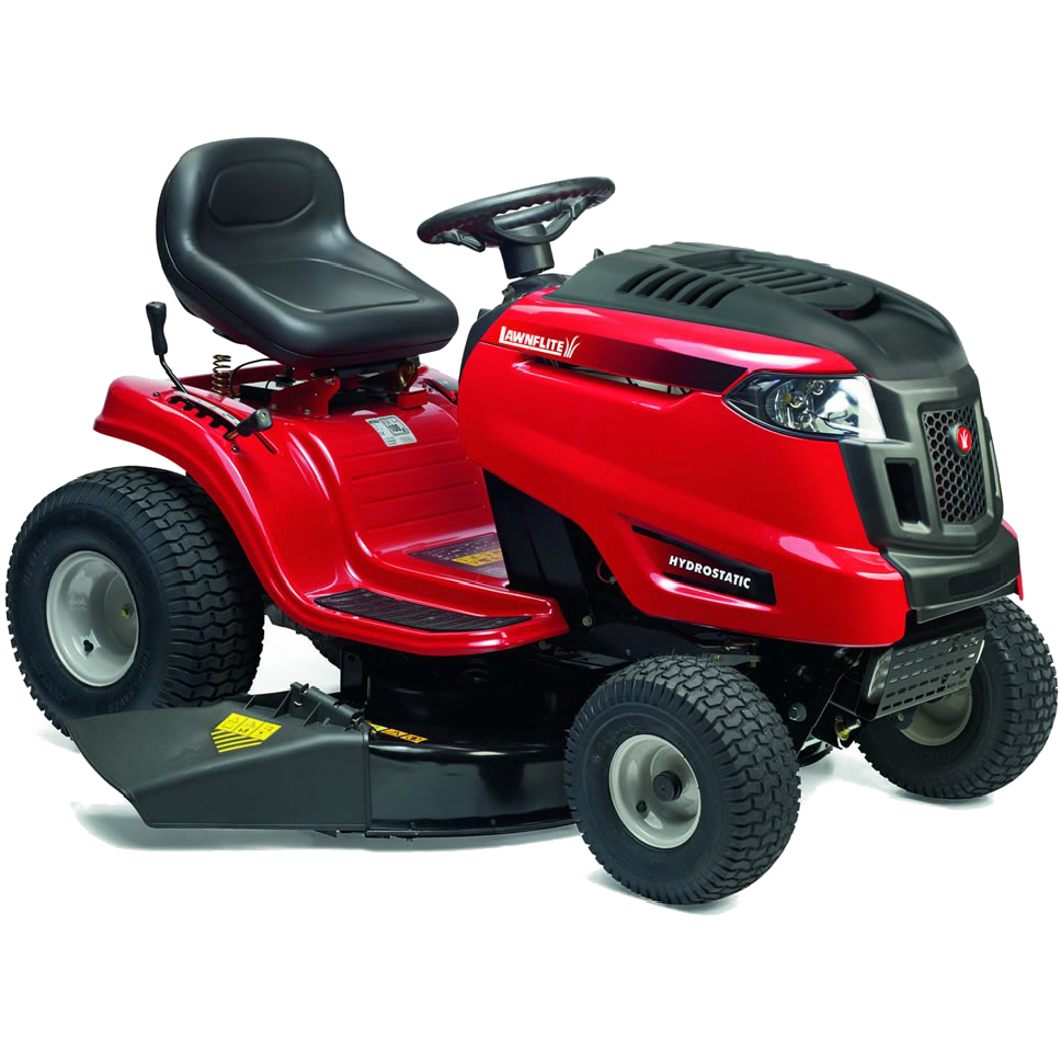 MTD lawnflite ride on mower - YouTube