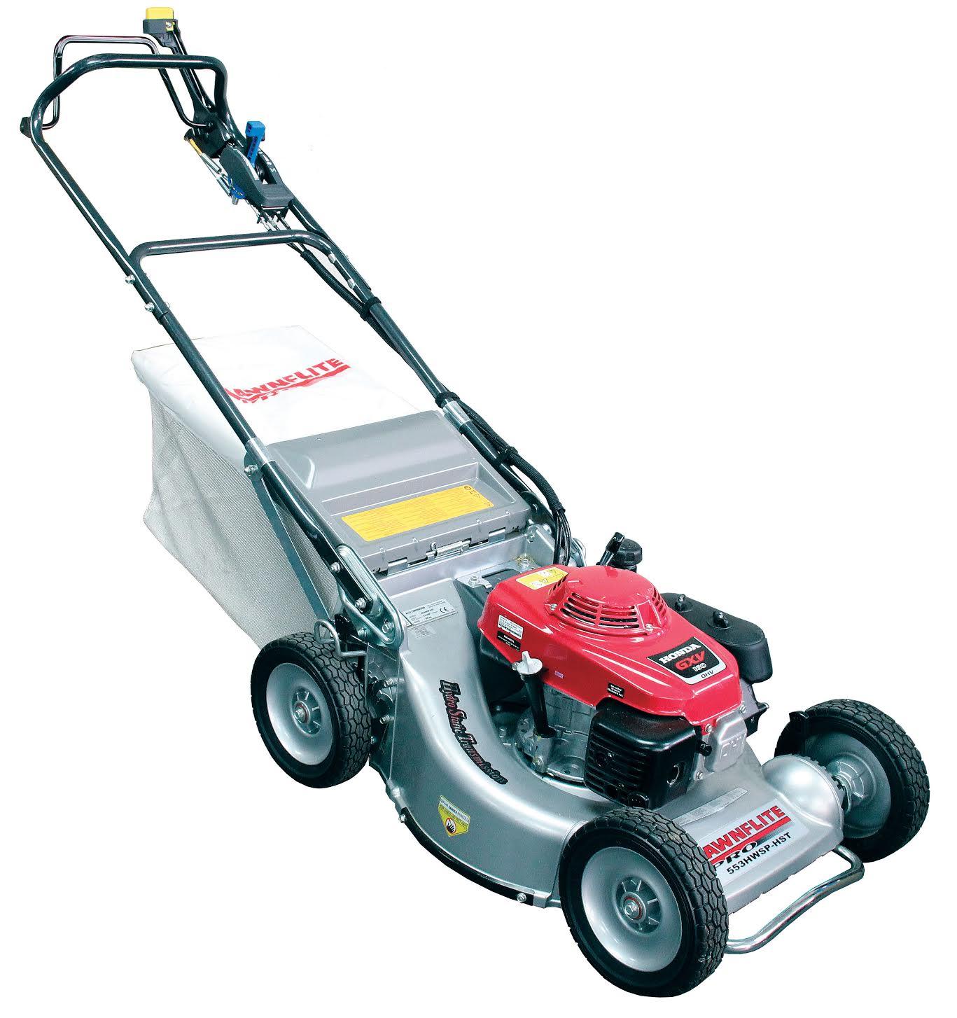 Lawnflite Pro 553hwsp Hst Four Wheel Lawn Mower With