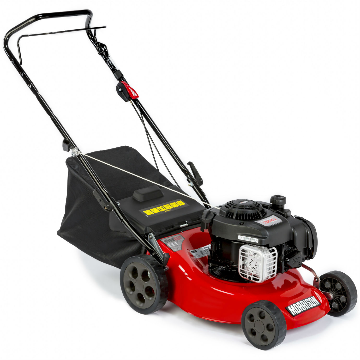 morrison surecut 3 in 1 petrol push lawnmower. Black Bedroom Furniture Sets. Home Design Ideas