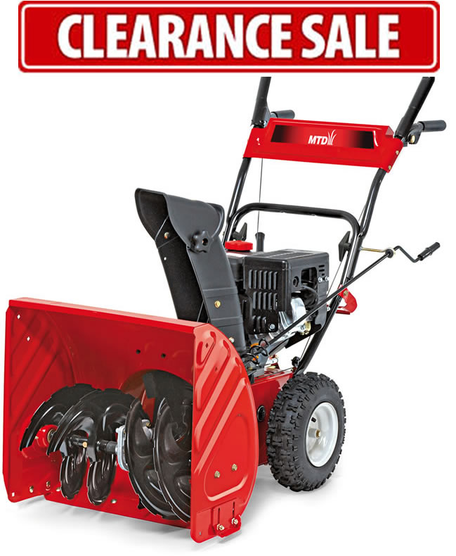 MTD M61 Snow Blower / Snow Thrower - 2 Stage Self-Propelled