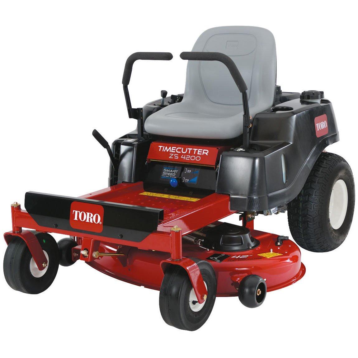 Lawn Mowers Toro ZS4200T Timecutter Zero-Turn Ride-On Mower