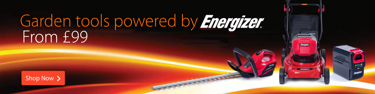 Garden Tools powered by Energizer - from £99