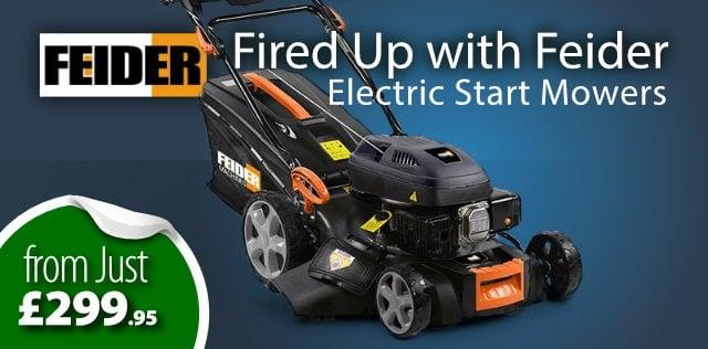 Feider Electric Start Mowers