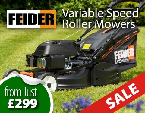 Feider Variable Speed Roller Mowers