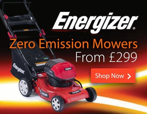 Zero Emission Mowers by Energizer